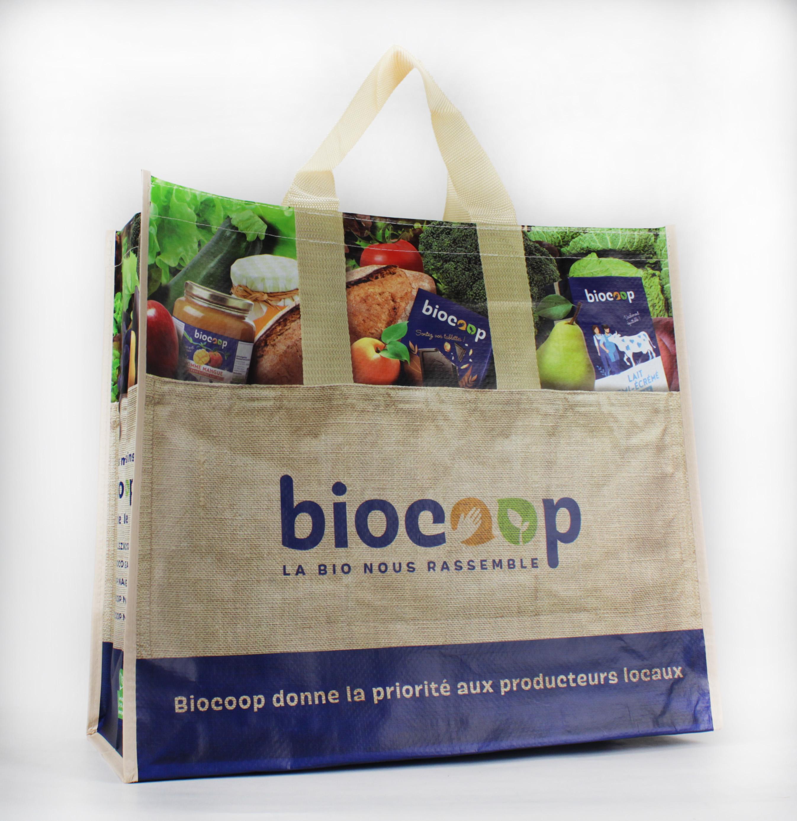 Sac personnalisé Biocoop